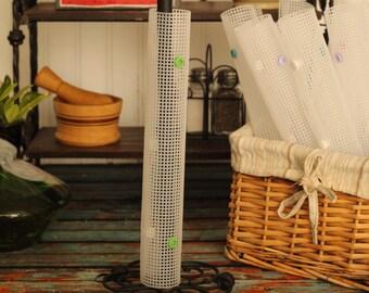 Plastic UNpaper Towel Roll