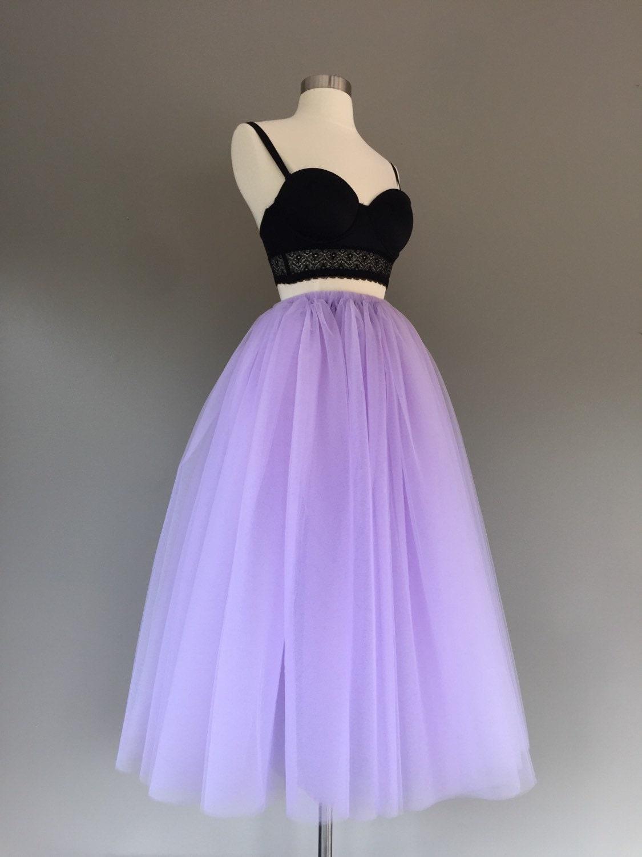 tulle skirt floor length tulle skirt lavender tutu by