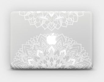Transparent MacBook Skin MacBook Sticker MacBook Decal Laptop Skin Laptop Sticker MacBook Air MacBook Pro – Mandala 9b