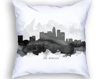 Los Angeles California Pillow, Los Angeles Skyline, Los Angeles Cityscape, 18x18, Cushion, Home Decor, Gift Idea, Pillow Case 11