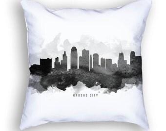 Kansas City Pillow, 18x18, Kansas City Skyline, Kansas City Cityscape, Kansas City Decor, Cushion Home Decor, Gift Idea, Pillow Case 11