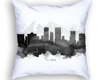 El Paso Texas Skyline Pillow, 18x18, El Paso Cityscape, El Paso Decor,  Cushion, Home Decor, Gift Idea, Pillow Case 11