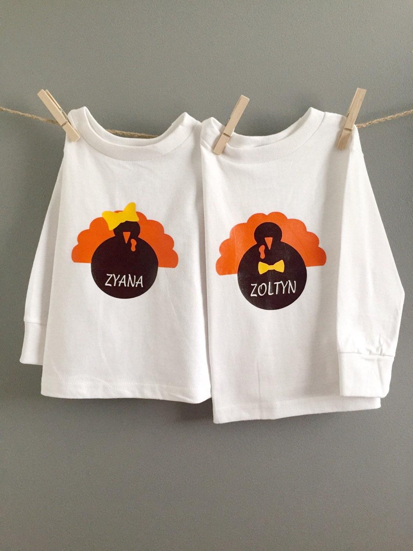 Kids thanksgiving shirts kids turkey shirts first for Shirts made in turkey
