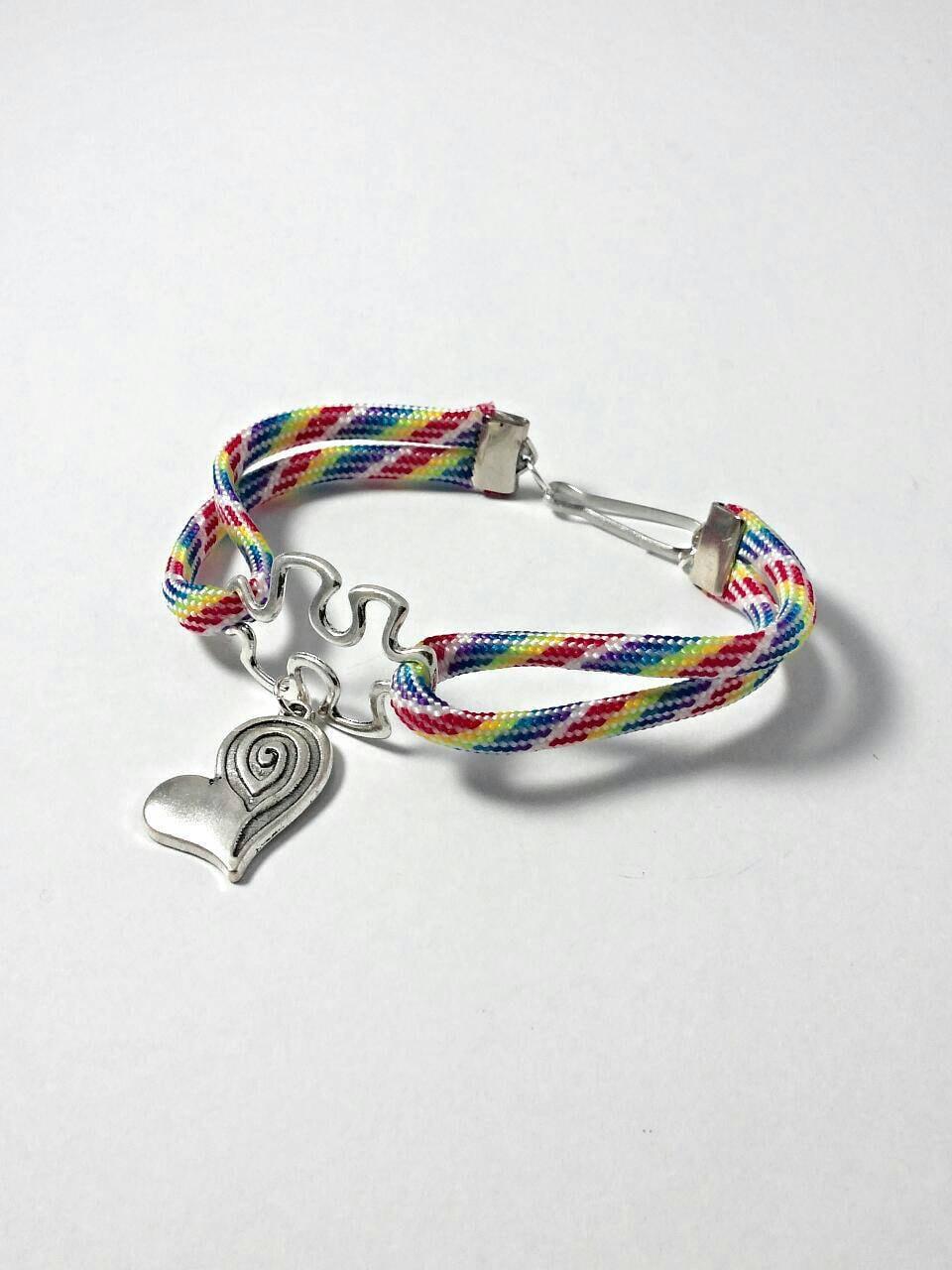 autism bracelet autism jewelry autism awareness by genevassky