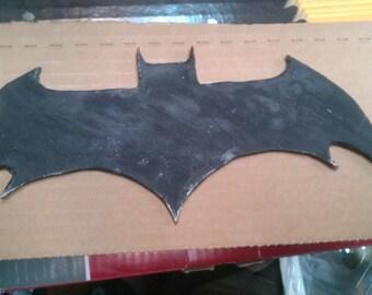 Battle Damaged Batman Chest Symbol