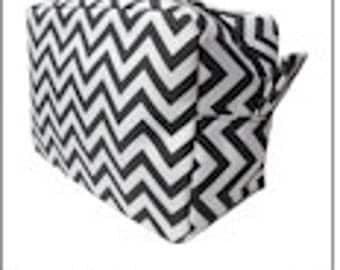 BLACK - Chevron Cosmetic Bag - FREE Monogram!!