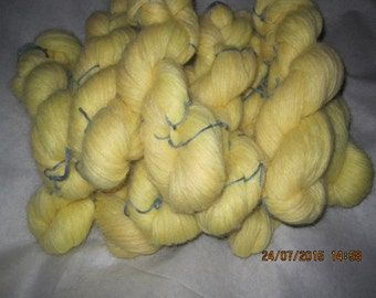 Icelandic pure wool, hand dyed with Lupinus nootkatensis-070515-2