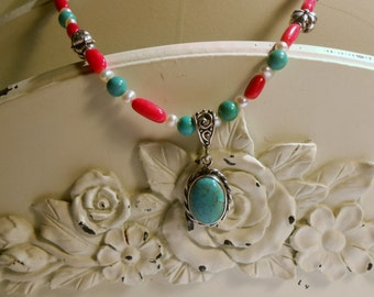 Southwester gypsy queen necklace