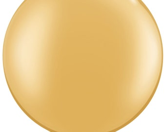 "36 inch giant Gold Balloon - 36"" Latex balloon-"