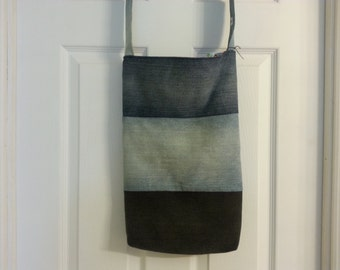 Great bag made from recycled jeans