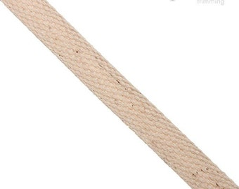 13mm 100% Cotton Webbing :360024WB