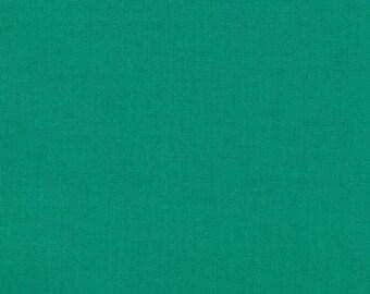 Robert Kaufman Kona Solids Jade Green (Half metre)