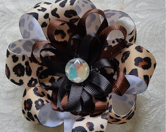 3 Layer Flower loop bow