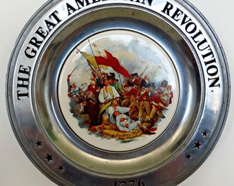 Collector's Plate The American Revolution 1776  Vintage (1975)