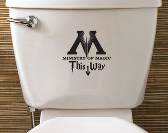 Harry Potter Ministry Of Magic Vinyl Sticker