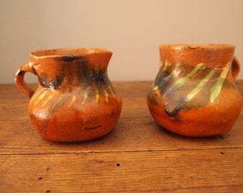 Plant Pot Small Ceramic Planter Mexican Cazuela