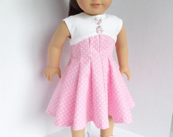 1950's Dress for Most all 18 Inch Dolls