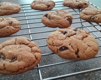 Salted Brown Butter Chocolate Chip Cookies - Updated!
