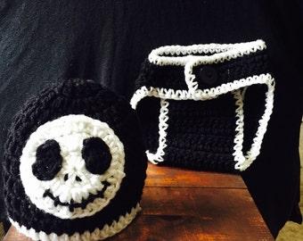 Jack Slellington Crochet Outfit