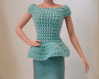 Crochet Skirt Set