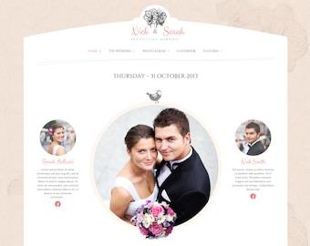 Wedding Day | Beautiful Wedding Website | Wedding Web Design