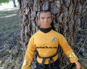 "Vintage Star Trek Captain James T. Kirk 8"" Action Figure"