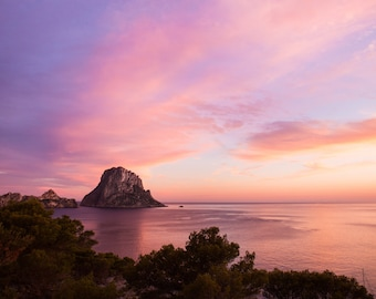 Magical Sunset of Es Vedra in Ibiza