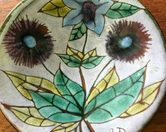1960s Chelsea Pottery England Plate