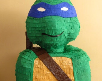 Ninja Turtle Shape Handmade Birthday Child Pinata