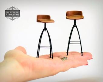 Miniature Counter stool, Barstool, 1:12 SCALE