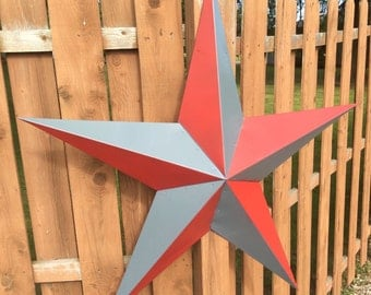 24 inch barnstar painted your team or school colors