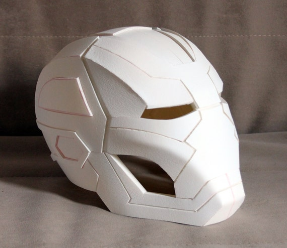 Iron Man Mark 41 Bones Helmet Pepakura File
