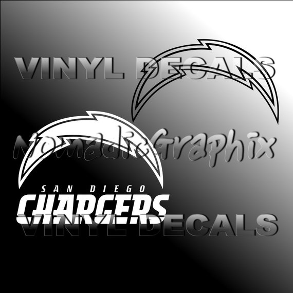 San Diego Chargers Decals: Items Similar To San Diego Chargers Logo Decal