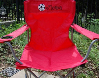 Personalized Chairs - Adult Size Camping/Folding Chair