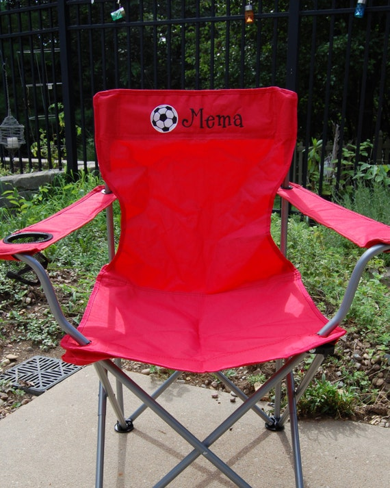 Personalized Chairs Adult Size Camping Folding Chair