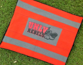 UNLV drag-around mini t-shirt blanket!  The perfect gift for your little Rebel or spirit rally rag for your older fan!