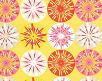 SALE, 1 Yard, Dena Design, Kumari Garden, Sashi in Pink