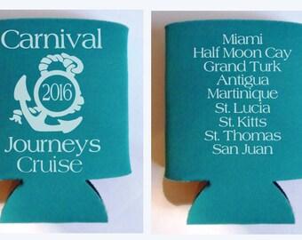 Journeys Cruise Koozies - custom design