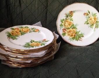 Royal Albert Tea Rose bread plate