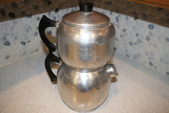 West Bend Coffee Maker Percolator : West Bend double percolator coffee percolator kwik drip coffee