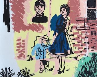 Liz in '69 Stew & Dar in '61