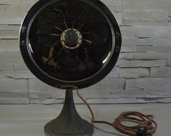 Vintage french deco unusual old heater calor/ industrial deco/ lamp industrial