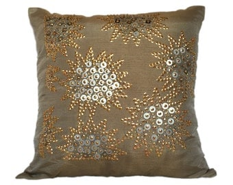 Brown  Pillow 20x20 Light Brown  Pillow Light Brown Accent Pillow Light Brown  Pillow Cover Brown  Light Brown Decorative Pillow