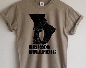 Bronco Bullfrog T-shirt - 1969 British Cult Film, Mod, Skinhead, S - 2XL, Various Colours