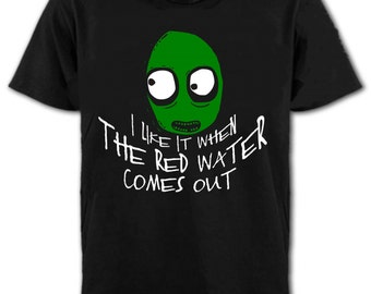 """Salad Fingers """"Red Water"""" T-Shirt - All Sizes"""