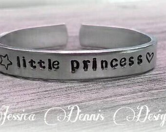 Newborn bracelet- Little Princess - Baby's first Bracelet Keepsake  - Bangle - Hypoallergenic - Made to order- Personalized
