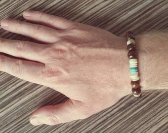 """""""Surf and Sand"""" mens bracelet"""