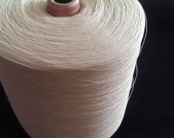 1 spool 900 g paper yarn nature Nm 30/1 on paper cone 300 den