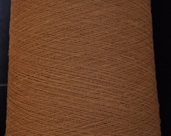 1 kg paper yarn nature-brown Nm 12/1 on paper cone 750 den