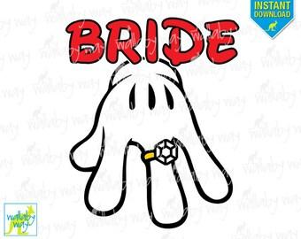 Mickey And Minnie Wedding Clip Art